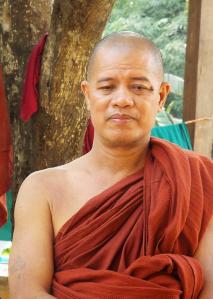 U Mandala med ett lagom behagligt uttryck.